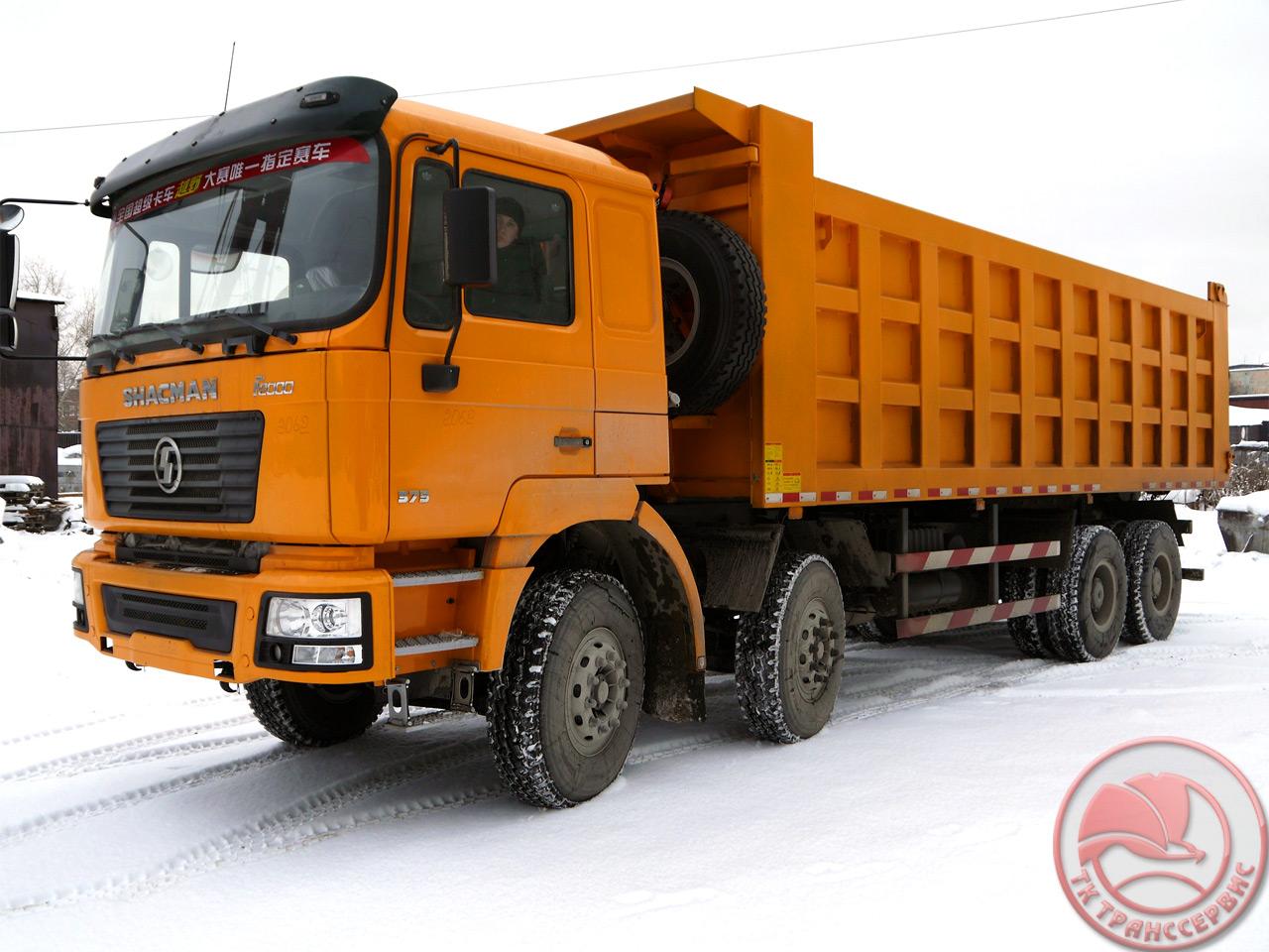 электронная схема китайского грузовика шакман